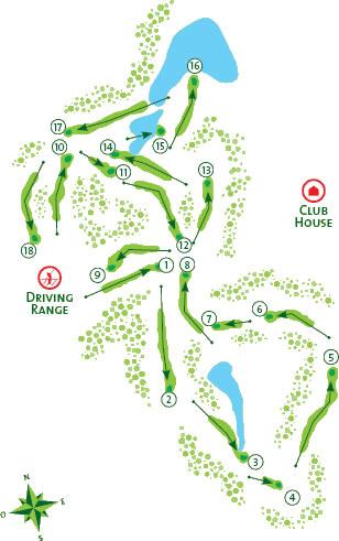 Quinta do Lago South - Course Map
