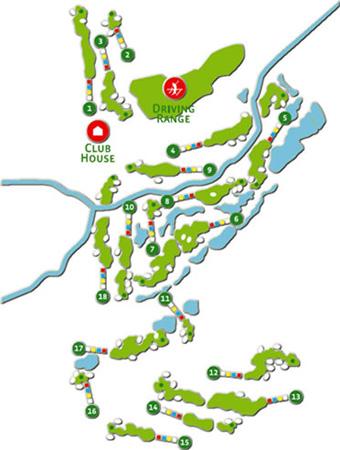 Oceânico Faldo - Course Map
