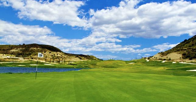 Font del Llop Golf Course Easter Competition