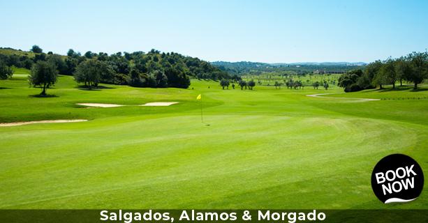 Salgados, Alamos & Morgado Golf Package
