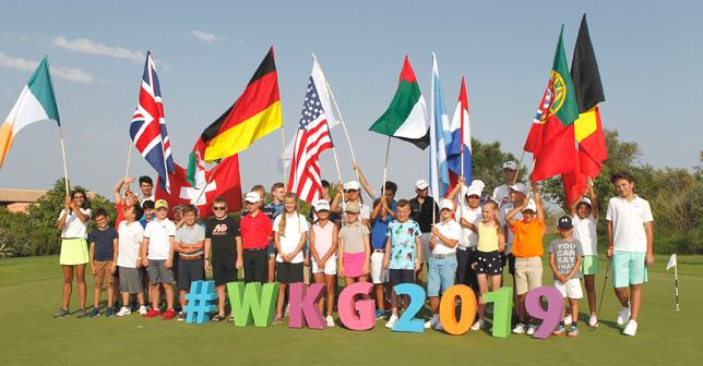 World Kids Golf - Opening Ceremony of the 2019 edition. Photo by Ramiro de Jesus