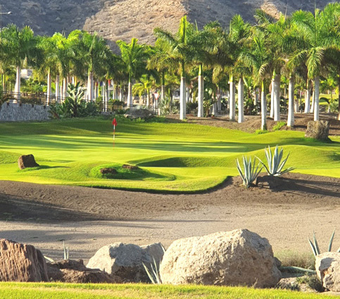 Fam Trip to Gran Canary. Anfi Tauro Golf Course
