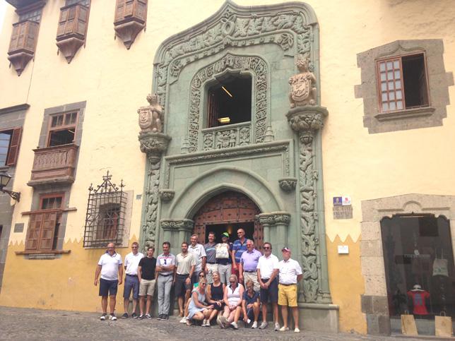 Fam Trip to Gran Canary. Cristóvão Colombo house in Las Palmas