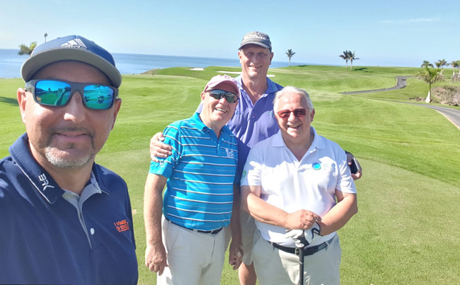 Fam Trip to Gran Canary. friendly game