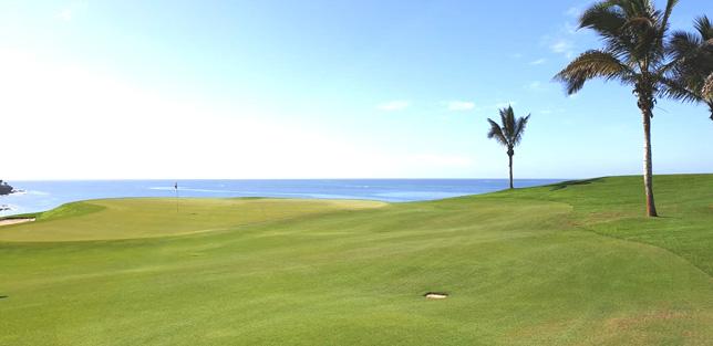 Fam Trip to Gran Canary. Meloneras golf course