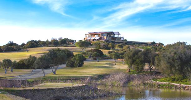 Espiche Golf Course. Back on the fairways