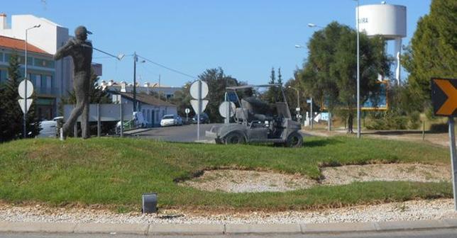 Algarve: Roundabouts on the EN 125