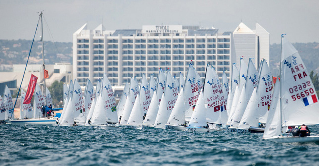 Vilamoura hosts the only sailing championships to take place worldwide