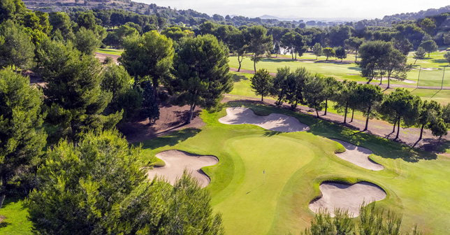 El Bosque Golf Course. Costa Blanca Golf Courses and Valencian Community in collaboration in the Interclubs Pairs Trophy 2021 circuit
