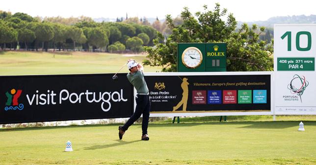 Ricardo Melo Gouveia in Portugal Masters, Vilamoura Victoria Golf Course - 2020