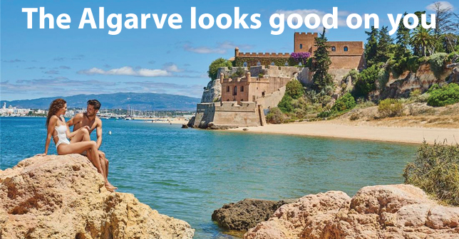 The Algarve looks good on you