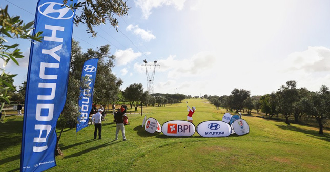 Hyundai is the official vehicle of the Portuguese Golf Federation