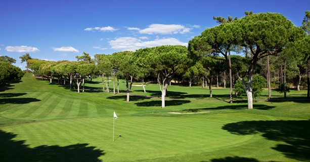 Vilamoura Old Course. Happy Golfers