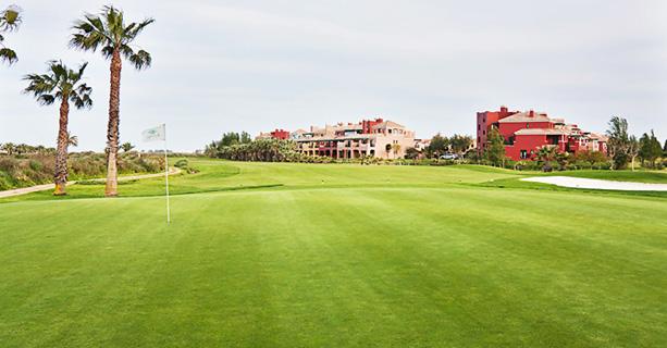 Hotel Isla Canela Golf. Spain golf.