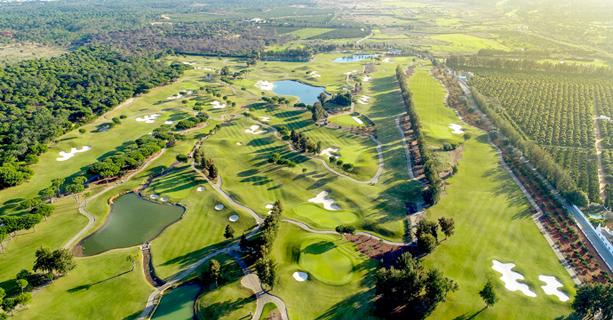 Portugal Golf. Laranjal Golf Course. World Wide Web Day