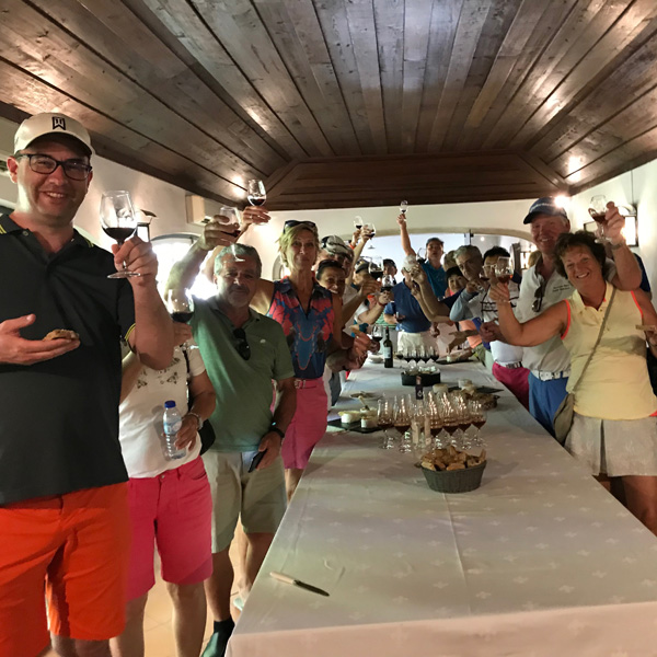 Teetimes Open Championship 2019 - Photo 24 Winery Tour JMF