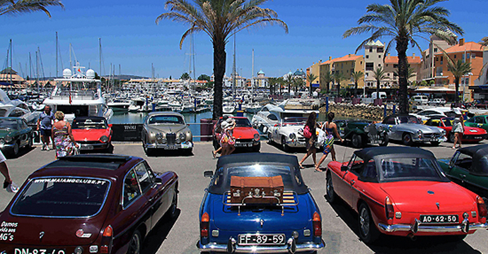 Tee Times Portugal Holidays: Algarve Classic Cars 2014