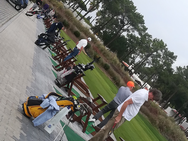 Tee Times Golf Agency Prestige Tournament 2018 - Photo Driving Range