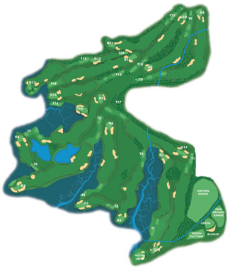 El Rompido North Golf Course Green Fees And Tee Times Andalusia - Portugal golf map