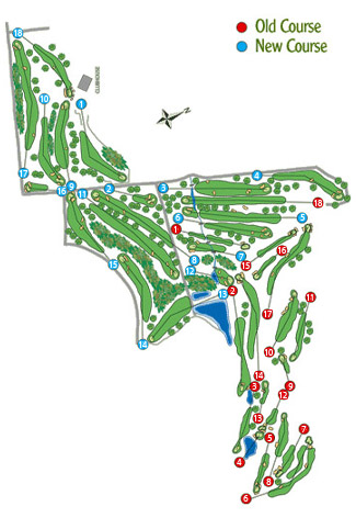 Atalaya New Golf Course map