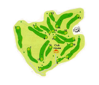 Cordoba Country Club Golf Course map