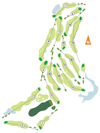 Course Map Santo Estevão