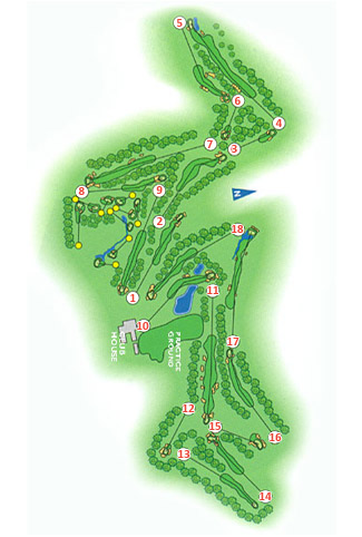 Valderrama Club Golf Course Green Fees And Tee Times Andalusia - Portugal golf map