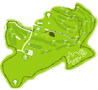 Montenmedio Golf Course map