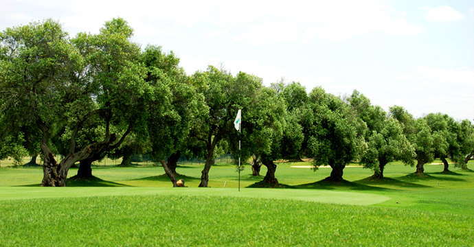 Spain Costa de la luz Golf Sancti Petri Campano Golf Course Teetimes