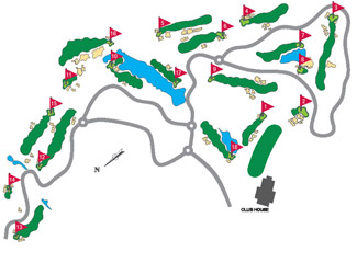 Montecastillo Golf Course Green Fees And Tee Times Andalusia Spain - Portugal golf map
