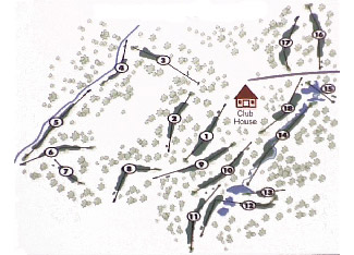 Cabopino Club Golf Course map