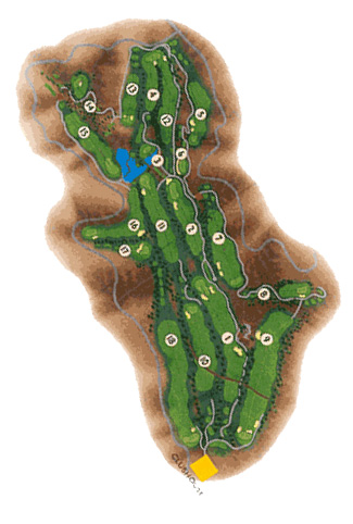 Salobre & New North Golf Course map
