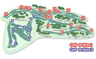 Course Map Golf de Ibiza I