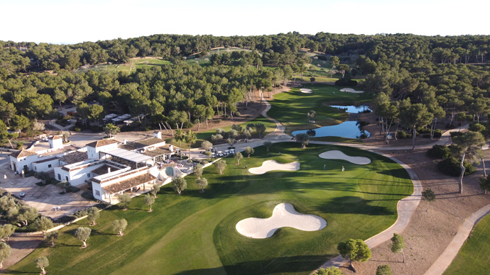 Spain Balearic islands Golf T & Country Club Golf Course Teetimes