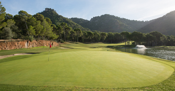 Spain Golf Son Servera Golf Course Teetimes