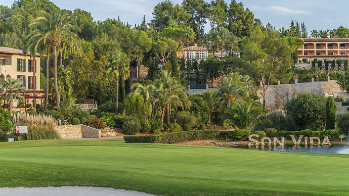 Spain Balearic islands Golf Son Vida Golf Course Teetimes