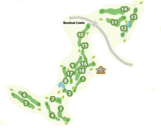 Real Bendinat Golf Course map