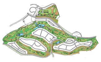 Course Map Hacienda del Alamo Golf Resort