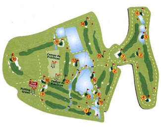 La Finca Golf Course Green Fees And Tee Times Comunidad Valenciana - Portugal golf map