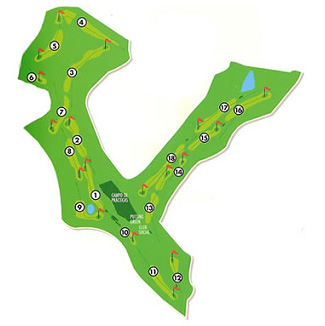 Las Ramblas Golf Course map