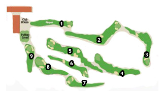 Course Map Costa Azahar Golf Course