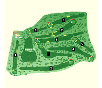 Course Map Manises Golf Course