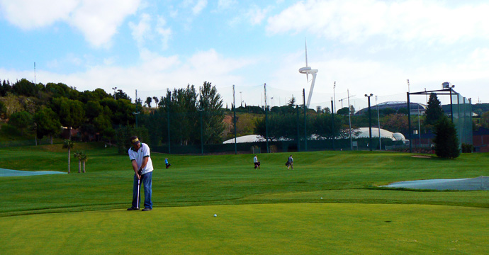 Spain Catalonia Golf Montjuic Pitch & Putt Golf Course Teetimes