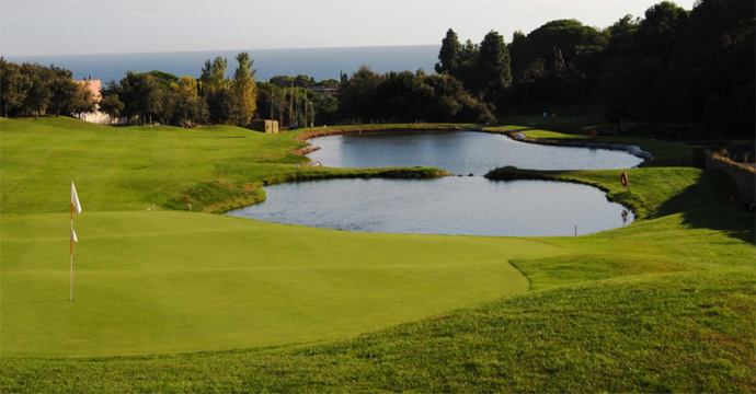 Spain Golf Sant Vicenç de Montalt Golf Course Teetimes