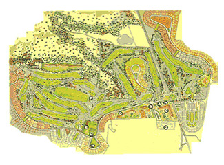 Course Map Torremirona Golf Course