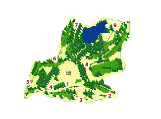 Raimat Golf Course map