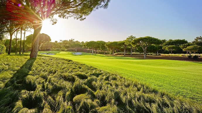 Quinta Do Lago North Golf Course Green Fees And Tee Times Algarve - Portugal golf map