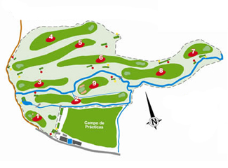 Course Map Madera III Golf Course