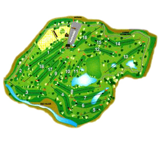 Course Map Nestares Golf Course