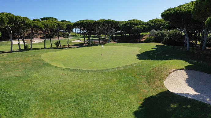 Pine Cliffs Golf Course Green Fees And Tee Times Algarve Portugal - Portugal golf map